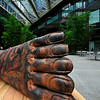 Giant Foot Sculpture New york