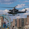 Helipcopter at Coney Island
