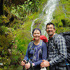 Happy hikers on the Routeburn Track