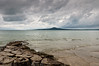 View of Rangitoto from St Heliers beach<br /> Auckland<br /> New Zealand