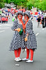 Two pretty maids in a row<br /> Santa Parade<br /> Auckland