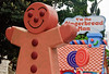 The Gingerbread Man<br /> Santa Parade<br /> Auckland