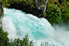 Final stage of the Huka Falls<br /> North Island<br /> New Zealand