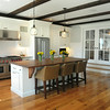BRYAN EATON/ Staff Photo. James Bourque designed and built this kitchen at his home which is on the Newburyport Kitchen Tour this weekend.