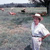 Mrs Clements and her cows.<br /> Lester Phipps, Jr.