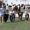Student Councils from both Pine Tree and Longview High Schools team up to clean up the roadside along Loop 281 between Gilmer Rd. and McCann Rd.  Lester Phipps, Jr.