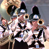 Pittsburg Marching Band in UIL 3A competition at White Oak High School Wednesday 10-16-96.  Lester Phipps, Jr.