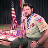 Longview Boy Scout Troop 225 Scoutmaster Tim Hill.  Lester Phipps, Jr.
