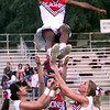 Henderson High School Cheerleaders.  Lester Phipps, Jr.