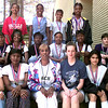 Back row left to right Courtney Garrett, Mashonda Collrgaria, Nicole Hudgins and Shuletha Nelson. <br /> Middle row Tanlisha Russ, Christy Rosborough, LaToya Williams, LaToya Coby, Ashley Booker and Kristin Beauchamp. Front row Terrka Reese, Brandy Johnson, Coach Shankle, Coach Vickers, Erika Depaz and Angela Thomas. Not Pictured April Bias the Forest Park Middle School Track City Champions. Kevin Green