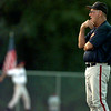 Longview Mustang American Legion coach Bob Miller at the State Tournament. Matula photo.
