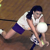 Terri Shurtleff is the only returning starter for Hallsville this year. Matula photo.
