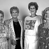 Pilot Club officers for 1997-98. President Julia Yost, Pres.-elect Susan Garner, treas. Nancy Duke and VP Linda Davis. (NP) Secretary Lucille Kennedy. Matula photo.