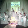 """The Choirs of Angels perform in this heavenly scene from Cavalry Christian Tabernacle's """"Is Hell Real?"""" Matula photo."""