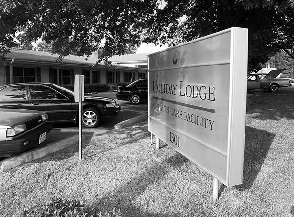 Holiday lodge was voted best nursing home. Matula photo.