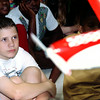 Brian Bethly a fifth grader at Kilgore Intermediate School checks out the airplane display that the flight students brought along with them. Kevin Green