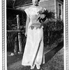 Mary Scalf in her junior-senior prom dress. Courtesy photo.