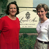 Date:   7/16/97---Julie Duke, left, and Laurie Gilespie, right, oweners of the new bed and breakfast in Longview, Longview Arms.  Jessica Williamson