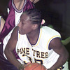 12/16/98---Pine Tree's (30) finds little room to get around Whitehouse defender (20) in their game Tuesday at Pirates Gymnasium. bahram mark sobhani