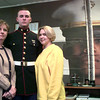 Date:   12/30/98Leftot Right----LeAnne McClure, Shane McClure, and Julie James, at the Marines office in lOngivew. Kevin green