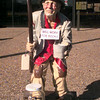 Date:   12/14/98---City of Longview homeless person present to library. Kevin green