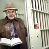 Date:   12/10/98---Longview Chaplain Albert Witt has been opening jail cell doors for the last 30 years with his bible as he witnesses to prisoners, including death row inmates. Kevin green