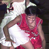 12/30/98---Marshall's Tabitha McCoy (25) is tripped up by Gladewater's Erin Hetherington (42) during their championship game at the Pine Tree Tournament. bahram mark sobhani
