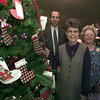 12/16/98---Haverty's store manager Charlie Brown, office manager Sandy Watts and Angel Tree coordinator Waynell Kuhlman, right, stand next to the Angel Tree set up at Haverty's store in Longview Wednesday. bahram mark sobhani