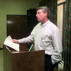 07/23/98---David Wilson, co-chair of the Budget and Admissions Committee of the Greater Longview United Way gives an update on the committee's report at the Board of Directors meeting Thursday afternoon in Longview.  Jessica Williamson