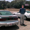 Date:   7/21/98---David Houston of Brew Pontiac Honda car dealership still has a few GM cars available on the lot, though the pickings are slim because of the continuing GM strike.  Jessica Williamson