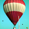 Date:   7/18/98---Longview Regional Medical Center's sponsored balloon, I Wanna Win II, came close to winning the key grab early Saturday morning. The pilot of the balloon was Robert Ambeau from Gonzales, La.  Jessica Williamson