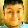 07/29/98---Eduardo Paz, 7, son of Eduardo and Mary Cruz Paz.  Pine Tree Elem.  Jessica Williamson