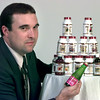 Date:   7/7/98---Chris Ogden with his Nutrina products. Kevin rgeen