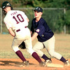 Date:   7/9/98---Longview All-Stars #5 tags White Oak's #10 but was not able to get the out during play at Gladewater Thursdya nigfht. Kevin green
