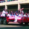 Date:   6/20/98---Red Oak Baptist Chruch of Longview joined in the Juneteenth parade Saturday morning in downtown Longview. Jessica Williamson
