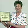 Date:   6/8/98---Dorothy Coones with her 50 th golden anniversary diploma. Kevin green
