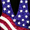 Date:   6/11/98--American Flag vest sells for forty-two dollars at Dressin' Gaudy in Longeiw. Kevin green