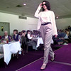 Date:   3/26/98---Stephanie Grogan Payne, models an outfit  from Cherry Hill & Co., during Gregg County Medical Society  Alliance Style Show Thursday afternoon at Pinecrest CC in Longview. kevin green