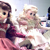 Some of the dolls on hand for Saturday's doll show at the Longview Fairgrounds. Kevin green