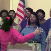 Date:   11/19/98---Members of the Red Oak Baptist Church choir sings songs of praise and thanksgiving during a rehearsal. bahram mark sobhani