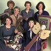 Date:   11/4/98---Christian Womens Club Sale----Front L to R Stacy Prine, Shirley Kisner, Back Row L to R---Mildred Wicks, Janie Cape, Dora Gough and Sherry Minze. Kevin green