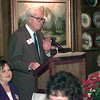 Date:   11/17/98----R.E. Peppy Blount speaks during the Salvation Army Advisory Board luncheon Tuesday afternoon at Johnny Cace's in Longview to kick-off the Red Kettle Campaign. Kevin green