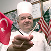Date:   11/25/98----Turkey native Erol Elma, the head chef  Pinecrest CC in Longview. Kevin green