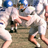 Date:   10/28/98---Spring Hill's #66 Chad Brown. Kevin green