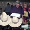 10/17/98---Russel and Dianne Poole of Longview look over auction items at the annual Gold Rush fundraiser for Good Shepherd Medical Center. bahram mark sobhani