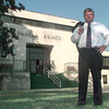 Date:   10/14/98---Panola County DA Danny Buck Davidson out in front of the courthouse in Carthage. Kevin green