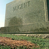 Date:   10/14/98---Majorie Nugent's grave at the Panola Mt Zion Cemetery in the Garden of Memories on US 79 just three mile east of De Berry TX. Kevin green