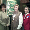 10/22/98---Three Women of Achievement, from left, Janie Bates, Hazel Hickey and Sue Williams, were recognized Thursday night by the Gregg County Business and Professional Women's Club. bahram mark sobhani
