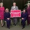 Date:   10/7/98----Left to Right---Pam Smith, Kathy Jones, Suzanne Cook, Martha Beckworth, and Mary Gooch. Kevin green