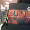 """9/03/98---A shopper walks past a display of """"end time"""" books at New Life Bible Bookstore. Such books as """"Left Behind"""" are based on the Bible's book of Revelation, and are selling well. bahram mark sobhani"""